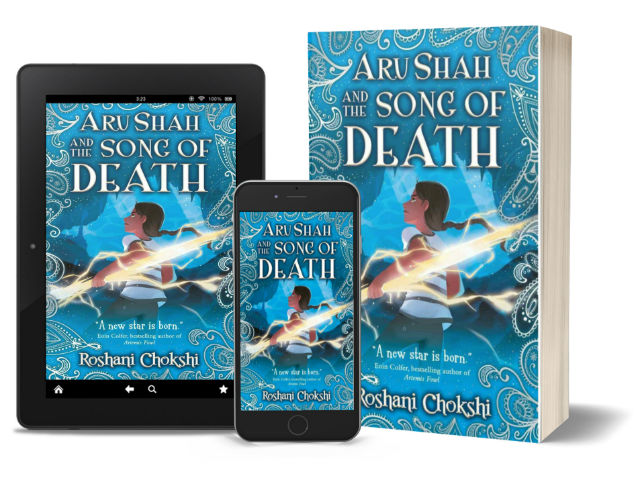 Aru Shah and the Song of Death - Book 2 of Pandava Series by Roshani Chokshi   Book Cover