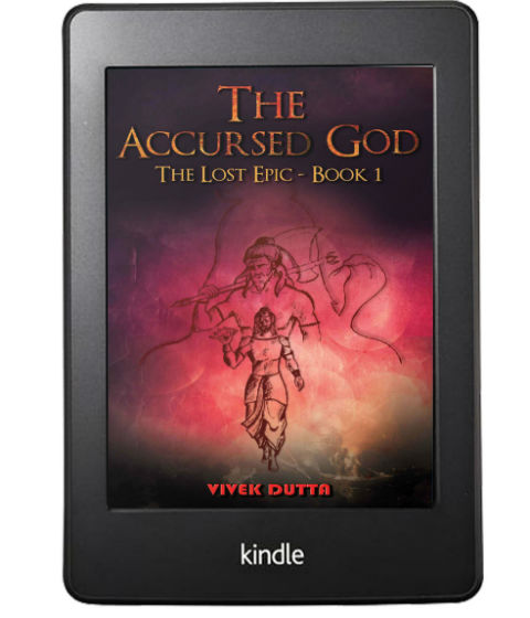 The Accursed God: The Lost Epic - Book 1 By Vivek Dutta | Book Cover