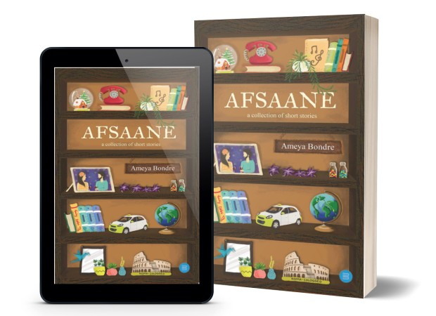Afsaane - A Collection of Short Stories By Ameya Bondre | Book Cover