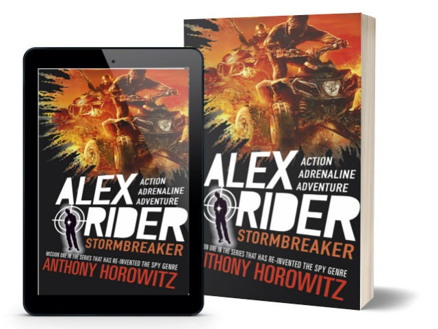 Alex Rider - Stormbreaker - by Anthony Horowitz | Book Cover
