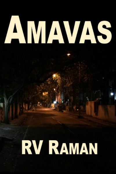 Amavas by R V Raman | Book Cover