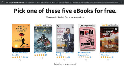 One Free Ebook Every Month For Amazon India Prime Members | Mar 2019 Catalog | Claim Your Book