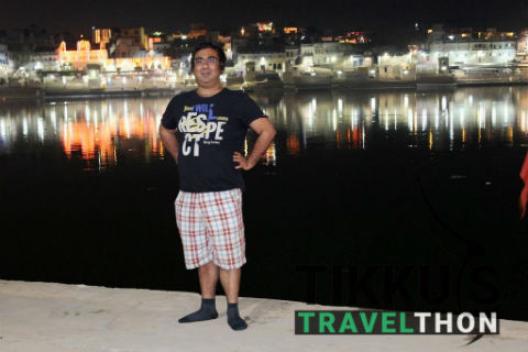 Anuj Tikku - A Professional Travel Blogger From India During One Of His Expedition