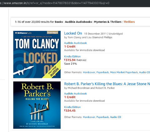 Amazon India - Audible Audiobooks - How To