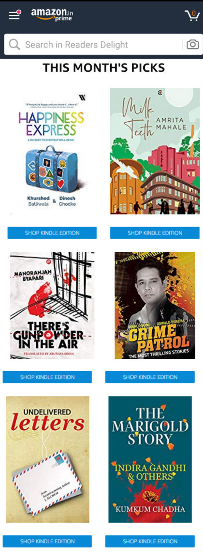 One Free Ebook Every Month For Amazon India Prime Members   August 2019 Catalog