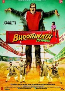 BhoothNath Returns - Hindi Film - DVD Cover