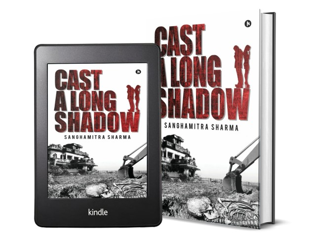 Cast a Long Shadow by Sanghmitra Sharma | Book Cover