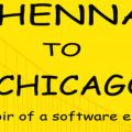 Chennai To Chicago – Memoir Of A Software Engineer by Sriram Ramakrishnan - Book Cover