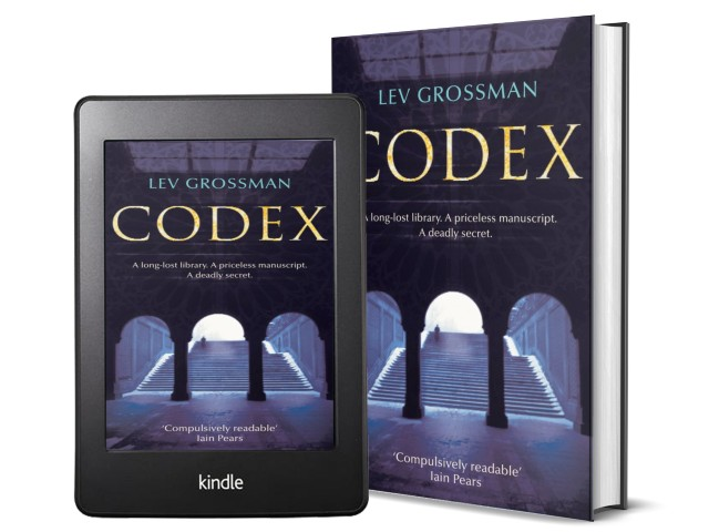 Codex by Lev Grossman | Book Cover