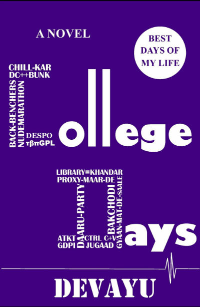 College Days by Devayu Mir | Book Cover