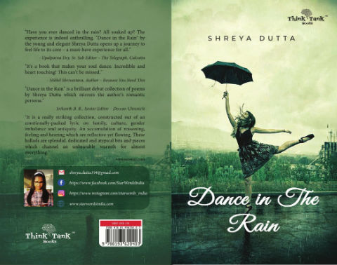 Dance in the Rain by Shreya Dutta | Book Cover