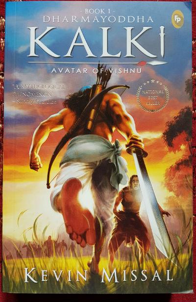 Dharmayoddha Kalki - Avatar of Vishnu By Kevin Missal | Book Cover