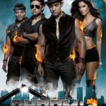 Dhoom:3 - Hindi Film - DVD Poster