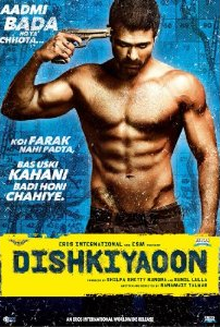 Dishkiyaoon - Bollywood Movie - DVD Cover