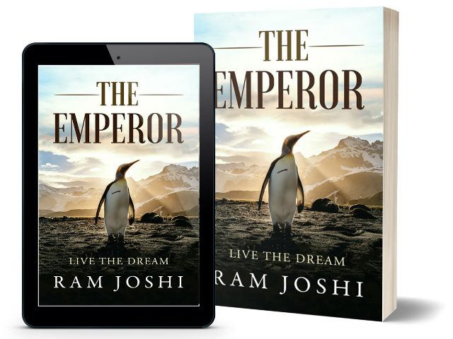 The Emperor: Story of the Storyteller By Ram Joshi | Book Cover