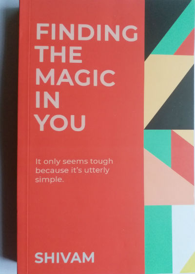Finding The Magic in You by Shivam | Book Cover