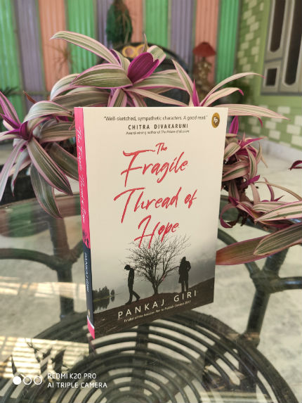 The Fragile Thread of Hope by Pankaj Giri | Book Cover