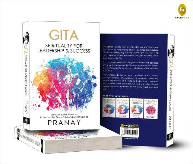GITA: Spirituality for Leadership and Success By Pranay | Book Cover