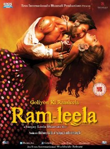 Goliyon Ki Rasleela : Ram-Leela - Hindi Film - DVD Cover
