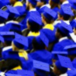 Graduates In Blue Cap