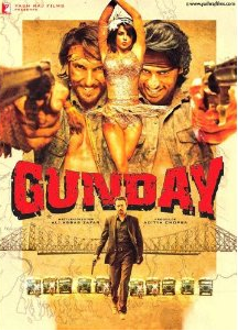 Gunday - Bollywood Movie - Poster