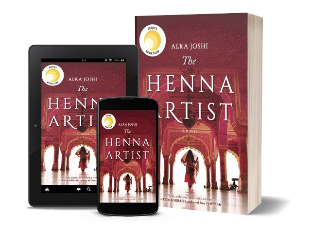 The Henna Artist By Alka Joshi | Book Cover
