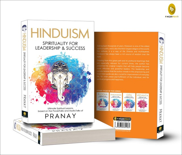 Hinduism: Spirituality for Leadership and Success By Pranay | Book Cover