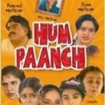 Hum Paanch - Hindi TV Serial - DVD Poster