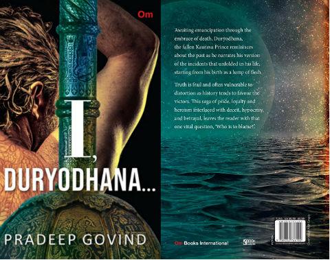 I, Duryodhana by Pradeep Govind - Book Cover