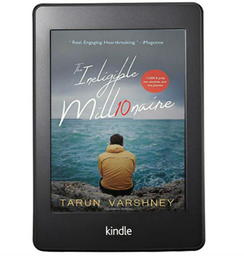 The Ineligible Millionaire by Tarun Varshney   Book Cover