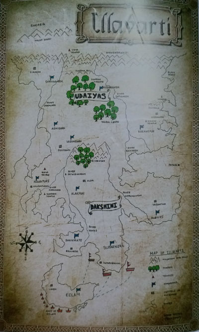 Kalki Book Series - Map