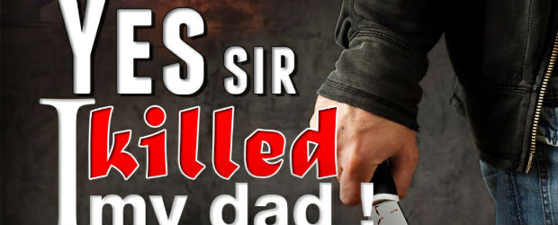 Yes Sir I Killed My Dad!: A Son's Grief by Anuj Tikku | Book Cover