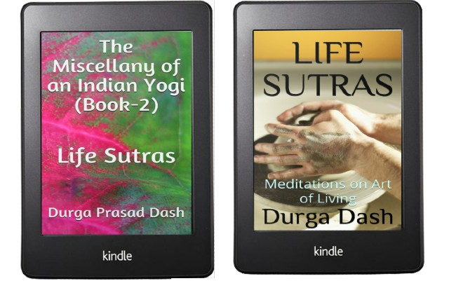 The Miscellany of an Indian Yogi (Book-2): Life Sutras By Durga Dash | Book Covers