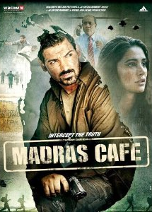 Madras Cafe - Hindi Film On DVD - Poster