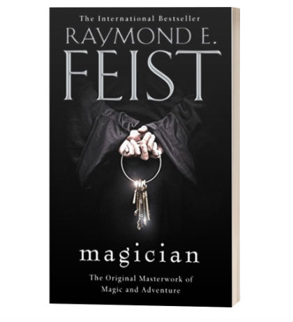 Magician by Raymond E. Feist | Book Cover