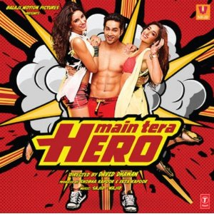 Main Tera Hero - Hindi Film - DVD Cover