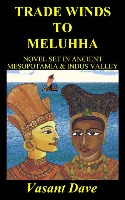 Trade Winds to Meluhha by Vasant Dave | Cover Page