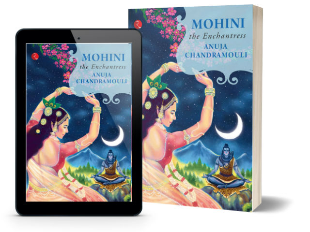 Mohini: The Enchantress By Anuja Chandramouli | Book Cover