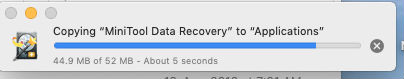 Mac Data Recovery: Installation Step 3