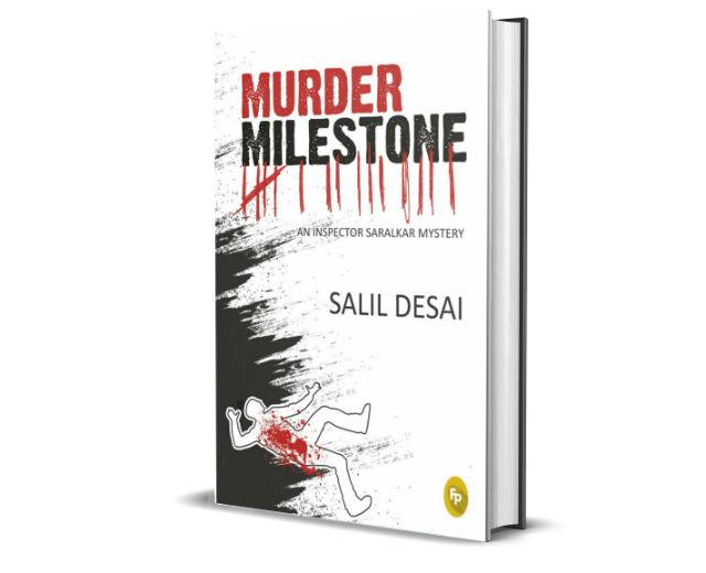 Murder Milestone: An Inspector Saralkar Mystery By Salil Desai | Book Cover