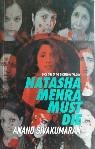 Natasha Mehra Must Die By Anand Sivakumaran | Book Cover