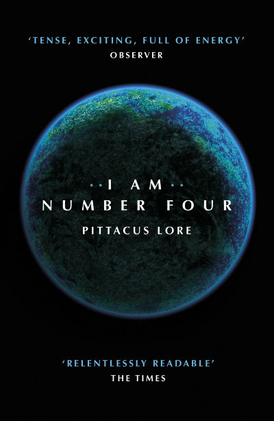 I Am Number Four: (Lorien Legacies Book 1) By Pittacus Lore | Book Cover