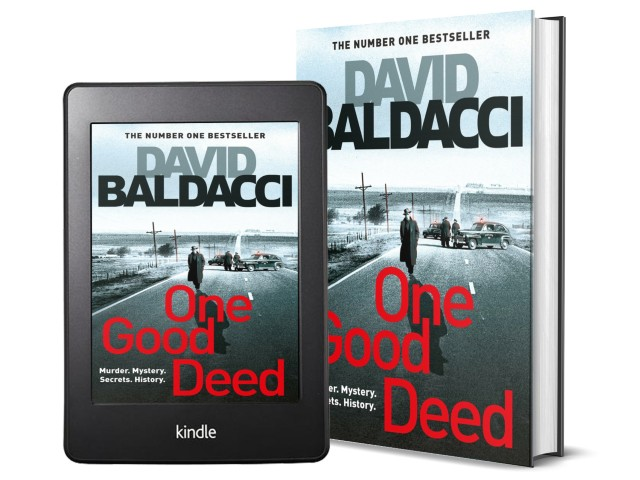 One Good Deed by David Baldacci | Book Cover