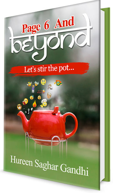 Page 6 And Beyond: Let's stir the pot... by Hureen Gandhi | Book Cover