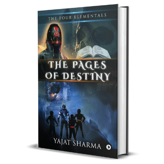 The Pages of Destiny | The Four Elements Trilogy by Yajat Sharma | Book Cover