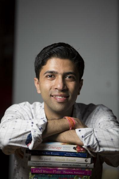 Pankaj Giri - the author of - The Fragile Thread Of Hope