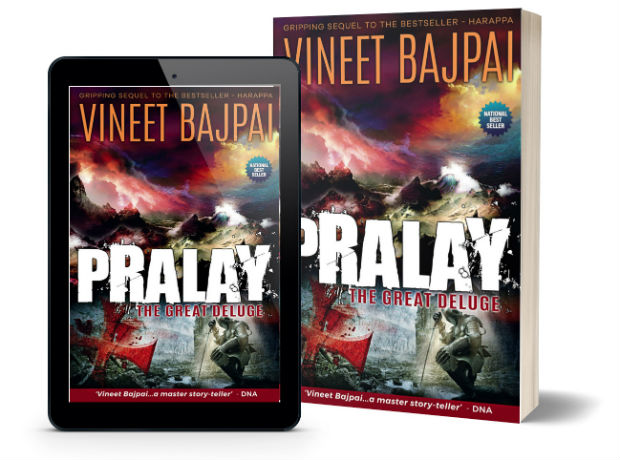Pralay: The Great Deluge by Vineet Bajpai | Book Cover