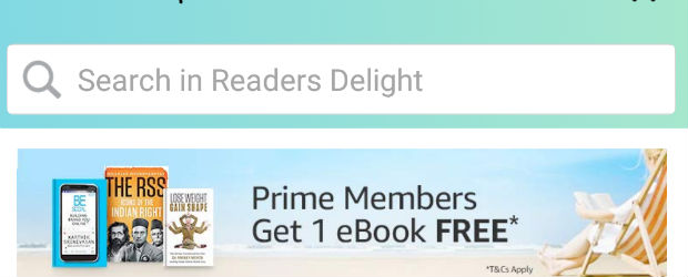One Free Ebook Every Month For Amazon India Prime Members | December 2019 Catalog