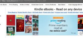 All About Amazon's Prime Reading Program Launched in India