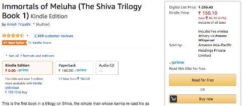 Amazon Prime Reading - Borrow A Book To Read